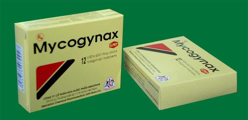 3. Thuốc đặt Mycogynax