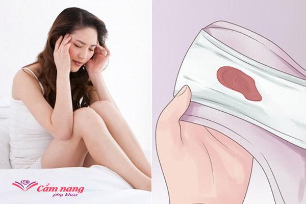 khí hư màu nâu khi mang thai có sao không